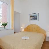 Schlafzimmer mit Komfortbetten